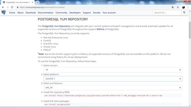 Установка PostgreSQL | DATAENGINER